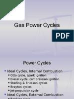 Week 8 Gas Power Cycles