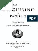 M.mezieres - La Cuisine de Famille