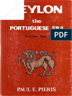Ceylon the Portuguese Era Vol-1
