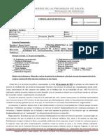 MODELO DE DENUNCIA A TELECOM Y PERSONAL. Caída en Salta 03 y 08 de marzo de 2015