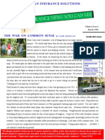 Insurance News You Can Use Newsletter March 2015