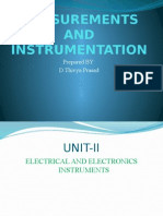 Measurements and Instrumentation by D.THIVYA PRASAD