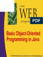 Basic Object Orijented Programming in Java