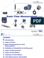 Basic Flow Measurement
