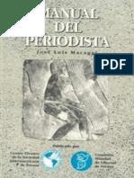 Macaggi, Jose Luis - Manual Del Periodista