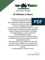 Ortega, Armando - Si Volviera a Nacer