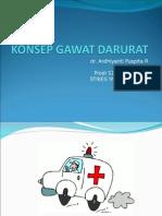 KONSEP GAWAT DARURAT