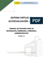 Manual de Usuario Para El Alumno, Egresado y Administrativo