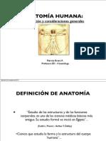 Clase 1 Generalidades de Anatomía (2012)