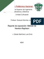 Newton Raphson