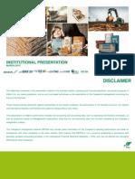 Institutional Presentation 4Q14