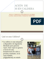 Optimización de Procesos en Caldera