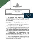 2014 Bar Examinations Questionnaires - Taxation