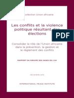 Ipi Pub Les Conflits Electoraux