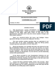 2014 Bar Examinations Questionnaires - Commercial Law