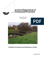 Guidelines for Inspection and Maintenance of Dams