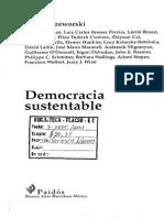 Przeworski Adam_Democracia Sustentable
