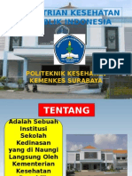 Persentase Poltekkes Kemenkes Surabaya