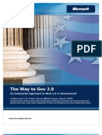 The Way to Gov 2.0