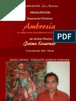 Inauguracion Jaime Lizarazo 2010 Ambrosia