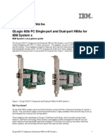 QLogic 8Gb FC Single-port and Dual-port HBAs for IBM System x