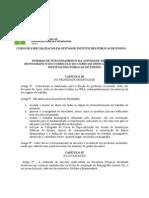 Normas Das Atividades - Trabalho Monográfico-curso de Especialização Em Gestão de Instituições Públicas de Ensino