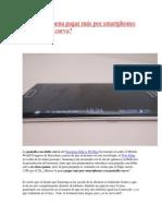 Merece La Pena Pagar Más Por Smartphones Con Pantalla Curva