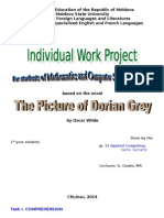 The Picture of Dorian Grey_Individual Work to Be Presented on Monday (1)