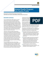BJS Arrest-Related Deaths Program Report (March 2015)