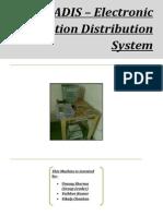 ERADIS - ELECTRONIC RATION( Wheat, Rice Etc) Distribution System