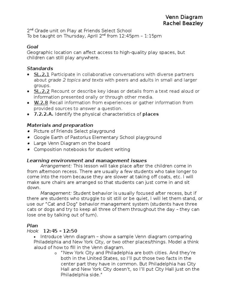 Venn diagram lesson plan rbb playground psychology cognitive venn diagram lesson plan rbb playground psychology cognitive science ccuart Image collections