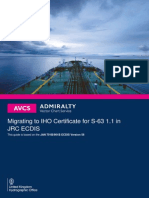 JRC Installing IHO
