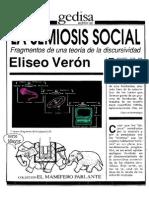 La Semiosis Social Fragmentos de Una Teoria de La Discursividad / Eliseo Veron