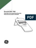 DPI 740 Barômetro de Precisão Druck