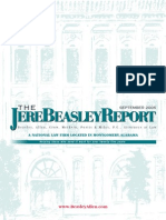 The Jere Beasley Report Sep. 2005