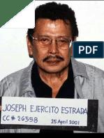 Criminal Case No. 26558; People of the Philippines v. Joseph Ejercito Estrada et. al. by Justice Teresita Leondardo-De Castro