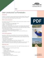 Portakabin Edition 14 Summary