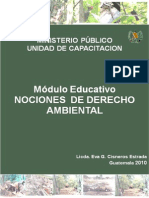 MODULO Educativo DER. AMBIENTAL 02-09-09 Proteccion Penal Del Medio Ambiente