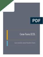 Corso Nuova ECDL Lezione 1