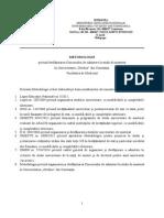 Metodologie Admit Masterat Medicina 2014-Final
