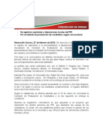 27-02-15 Se Registran Aspirantes a Diputaciones Locales Del PRI