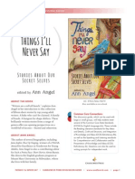 Things I'll Never Say Discussion Guide