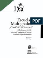 Curriculum Multigrado