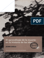 Casals Jaume - El Aprendizaje De La Muerte En La Historia De Las Ideas.pdf