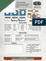 Void Pearl Vehicle Sheet