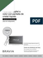 Manual Sony KDL - W656A