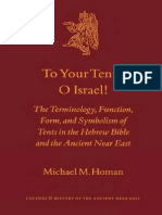 Brill Publishing To Your Tents O Israel, The Terminology Function Form and Symbolism of Tents in the Hebrew Bible and the Ancient Near East (2002).pdf