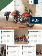 Preisliste/ DR125SM Zubehörkatalog v-Strom