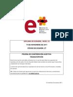 Dele c2 Transcripcion Prueba Oral 191111 0 0