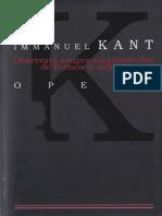 Immanuel Kant-Observatii Asupra Sentimentului de Frumos Si Sublim-ALL (2008)